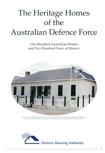 The Heritage Homes of the Australian Defence Force