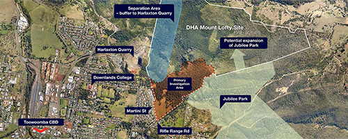Mount Lofty_Corflute Boards_Site Plan_500x200